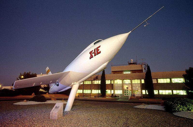File:Bell X-1E on display at NASAs Dryden FRC.jpg
