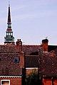 Bell tower of former Greenheys School in Moss Side, Manchester.jpg