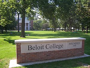 Beloit, Wisconsin - Beloit College entrance