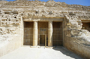 Khnumhotep II - Exterior of the Tomb BH3