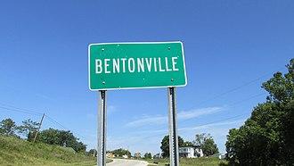 Bentonville, Ohio - Image: Bentonville OH1