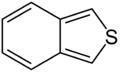 Benzo-c-thiophene simple structure.png