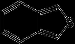 Benzo(c)thiophene - Image: Benzo c thiophene simple structure