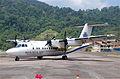 Berjaya Air DHC-7-110 Dash 7; 9M-TAK@TOD;12.08.2011 618an (6298578802).jpg