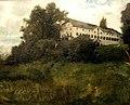 Berlin, Alte Nationalgalerie, Wilhelm Trübner, Klostergebäude auf der Herreninsel im Chiemsee.JPG