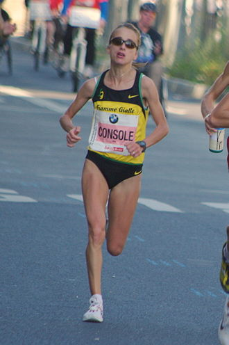 Rosaria Console - Rosaria Console at the 2011 Berlin Marathon