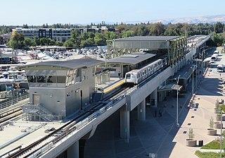 Berryessa/North San José station