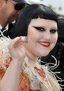 Beth Ditto a Cannes nel 2010