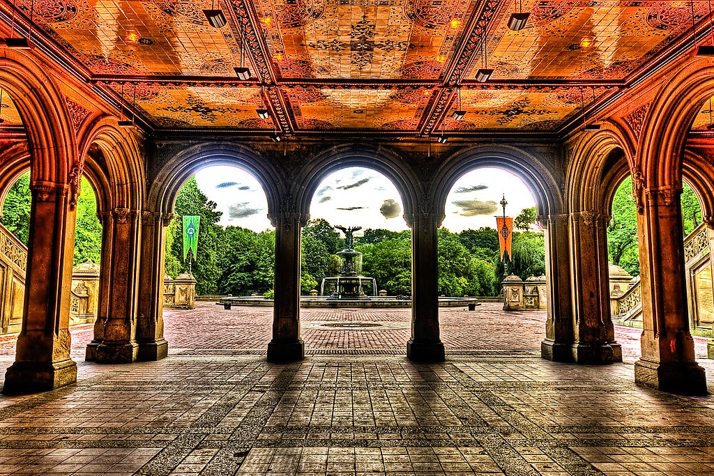 File bethesda fountain and the terrace central park nyc for Where is terrace