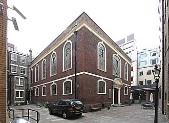 Bevis Marks Synagogue - Exterior of the synagogue