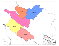 Districts of Bheri