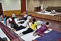 Bhujangasana - International Day of Yoga Celebration - NCSM - Kolkata 2015-06-21 7390.JPG