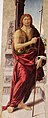Biagio d'antonio, Madonna tra i santi Giovanni Battista e Girolamo, 03.JPG