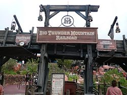 Big Thunder Mountain Entrance Sign at Magic Kingdom.jpg
