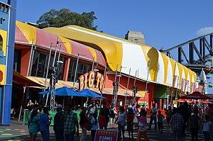 Big Top Sydney - Entrance to venue (c.2013)