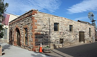 Bimson Blacksmith Shop - Southern and eastern sides of the building