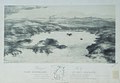 Birdseye view of Port Nicholson, in New Zealand. Drawn by Charles Heaphy (1820-1881), lithography by Thomas Allom (1804-1872. Printed 1843. Hocken Collections, 12,826.jpg
