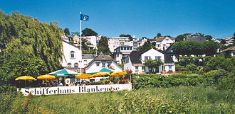 Blankenese - Beach of Blankenese