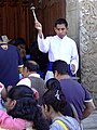 Blessing the Faithful - Virgin of Guuadalupe Festivities - Oaxaca City - Oaxaca - Mexico (6499362713).jpg