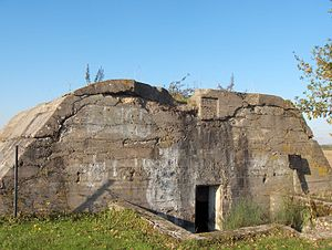 Deutscher Bunker in Fromelles 2007