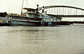 Blonde Tisza name of a vessel, Szeged, march 1980 - Nr2.jpg