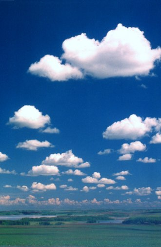 Weather lore - Cumulus humilis indicates a dry day ahead.