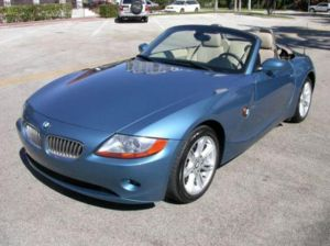 2003 BMW Z4 Photographed in Greenwich, CT.