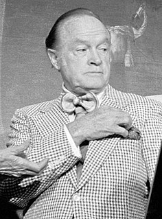 Bob Hope American comedian, actor, singer and dancer