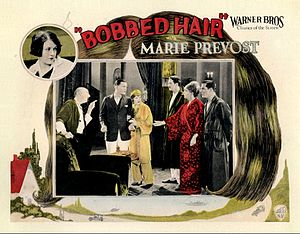 Bobbed Hair (1925 film) - Lobby card