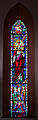 Bocan St. Mary's Church Nave North Wall Window 02 Sacred Heart of Jesus 2014 09 09.jpg