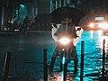 Boda boda on a rainy night in nakuru.jpg