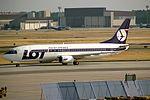 Boeing 737-45D, LOT Polish Airlines JP6189279.jpg