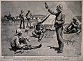 Boer War; British soldiers outside their tent in camp at Chi Wellcome V0015616.jpg