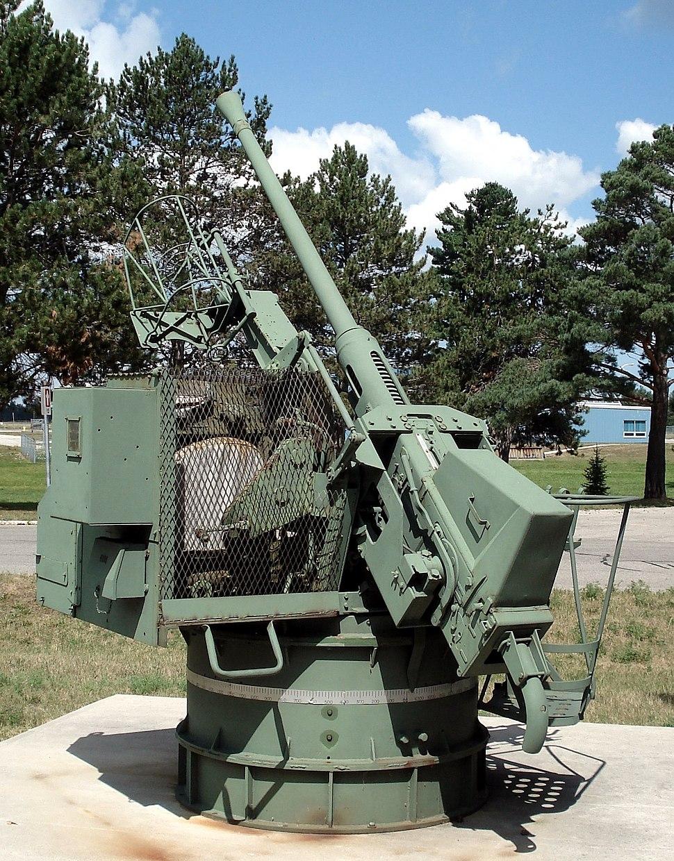 Boffin 40mm bofors cfb borden 1