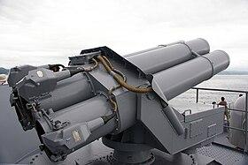 波佛斯37.5cm反潜火箭发射器M/50