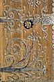 Bogato zdobione drzwi Muzeum Architektury ul Bernardyńska 5 fot BMaliszewska.jpg