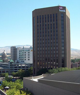 U.S. Bank Plaza (Boise) - US Bank Plaza in August 2008