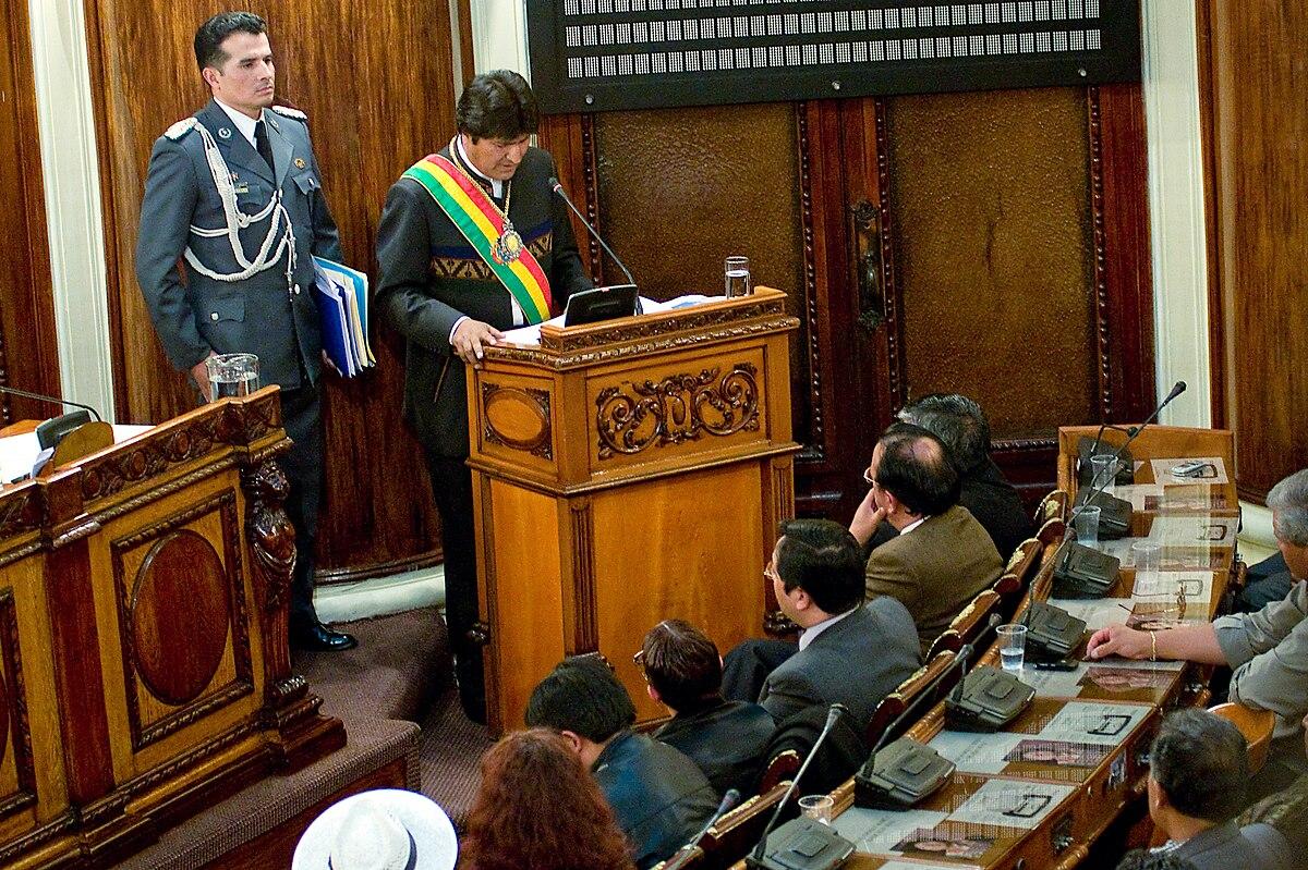 Domestic policy of the Evo Morales administration - Wikipedia