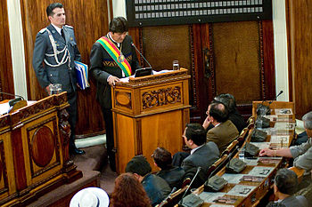 Bolivia evo-morales government Joel Alvarez