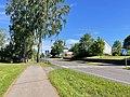 Borgheim, Nøtterøy, Norway. Minneparken anlagt 1950, Nøtterøy kirke church, Fylkesvei 308, summer etc. 2021-06-16 IMG 4250.jpg