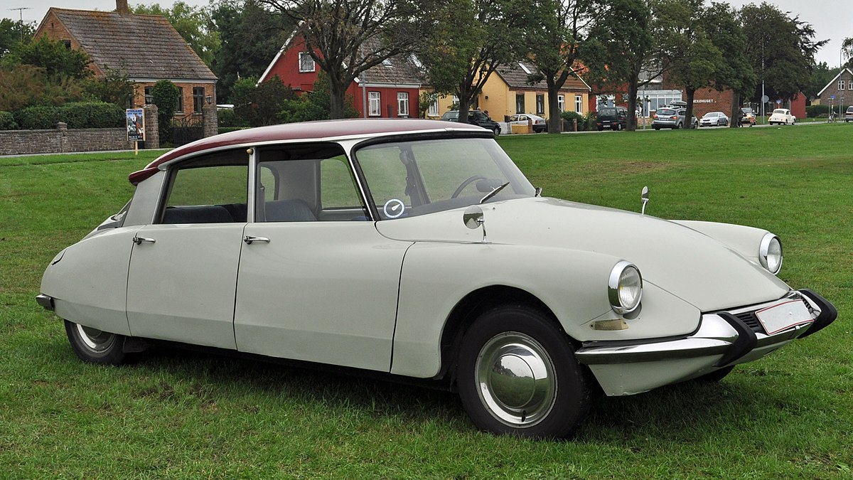 Citroën DS Wikipedia - Cool french cars