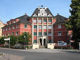 Town hall in Borsdorf, Saxony, Germany