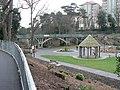 Boscombe Chine Gardens, land-train stop - geograph.org.uk - 646446.jpg