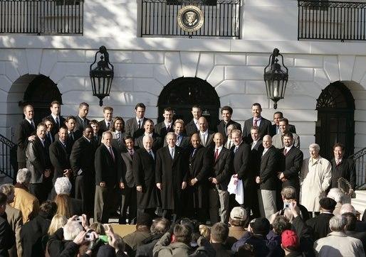 Boston Red Sox George W. Bush 2005