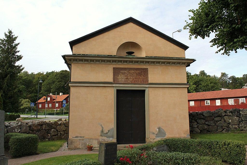 Botkyrka kyrka - Liljencrantzska gravkoret.JPG