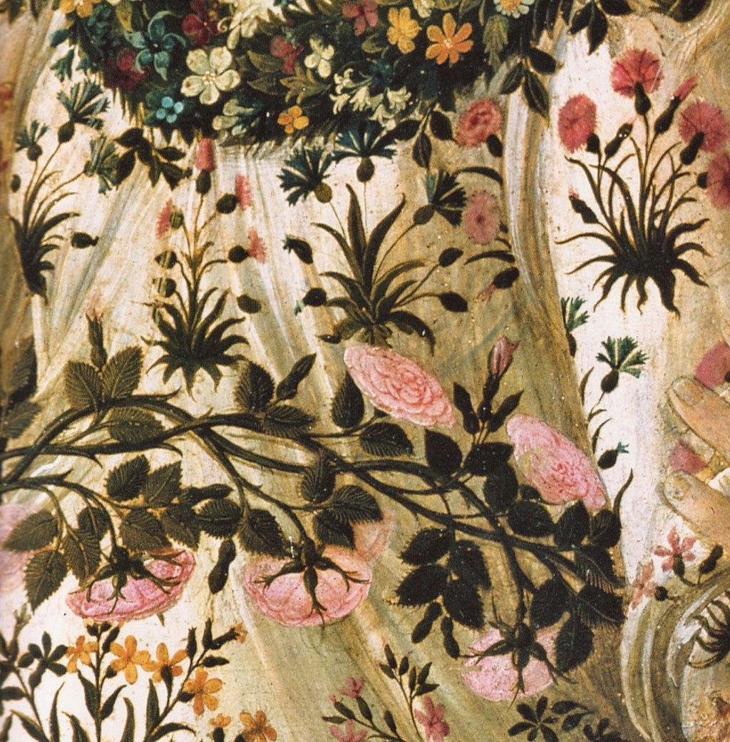 Botticelli's Primavera - detail 05