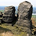 Boulders on Blackstone Edge. - geograph.org.uk - 570405.jpg
