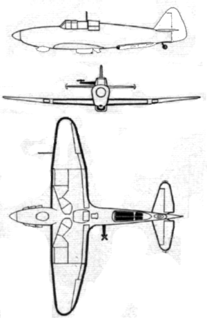 Boulton Paul Defiant target tug 3-side view.PNG