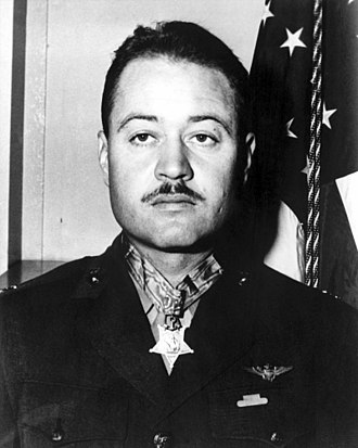 Pappy Boyington - Boyington shortly after receiving the Medal of Honor