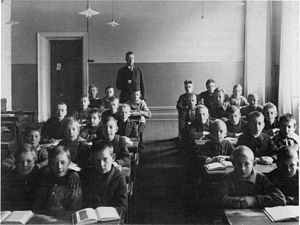 English: The schools in Norrköping were for a ...
